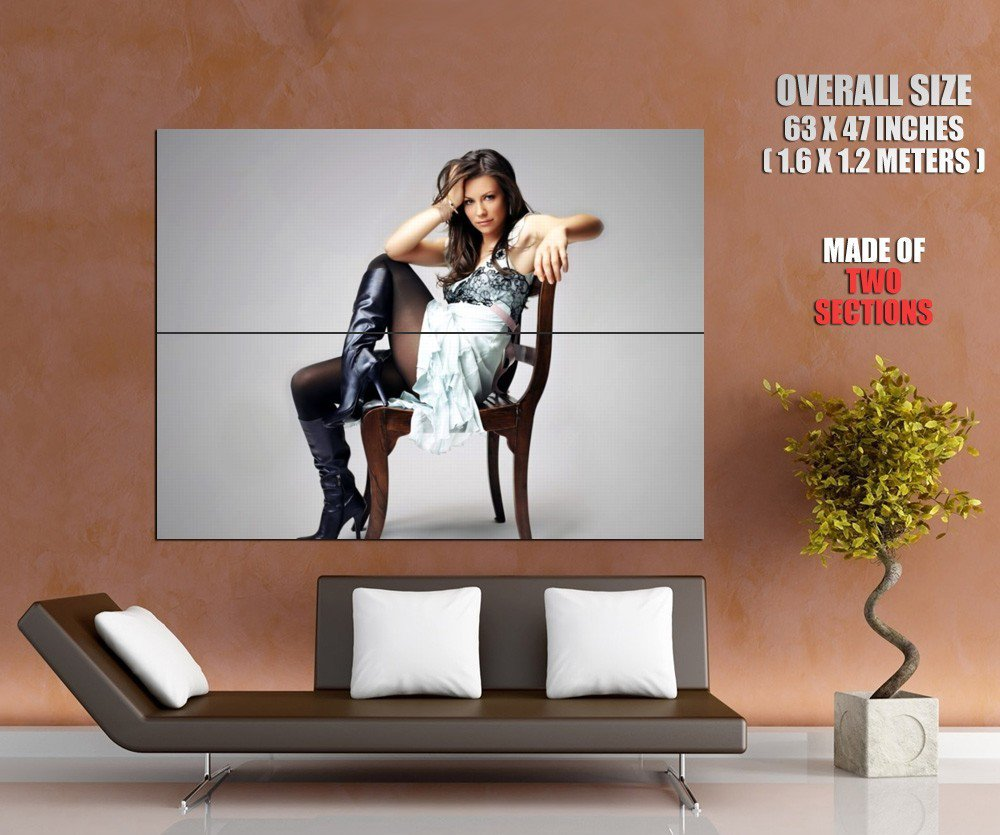 Evangeline Lilly Hot Girl Sexy Legs Huge Giant Print Poster
