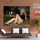 Hot Blonde Babe Sexy Legs Butt Huge Giant Print Poster