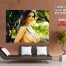 Lucy Pinder Big Boobs Huge Titts Breasts Huge Giant Print Poster