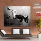 Hilary Swank Sexy Legs Hot Bw Huge Giant Print Poster