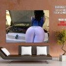 Big Sexy Butt Ass Car Volkswagen Huge Giant Print Poster