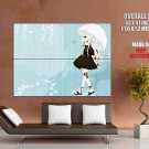 Anime Girl Hanabi Umbrella Huge Giant Print Poster