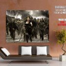 Resident Evil Zombies Runaway Huge Giant Print Poster