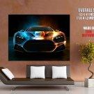 Zenvo St Front Space Stars Supercar Huge Giant Print Poster