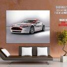 Aston Martin Vantage Asia Cup Sport Huge Giant Print Poster
