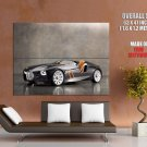 Bmw 328 Convertible Future Concept Car Huge Giant Print Poster