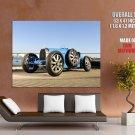 Bugatti Type 35 192430 Retro Car Huge Giant Print Poster