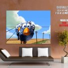For The Birds Pixar Funny Movie Huge Giant Print Poster