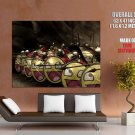 Spartans Shields Smiley Movies Huge Giant Print Poster