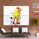 Lovin It Now Ronald Mc Donald Cool Huge Giant Print Poster