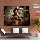 Amazement Springs Titts Nipples Art Huge Giant Print Poster