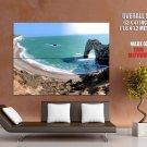 Bay Sea Rocks Landscape Huge Giant Print Poster