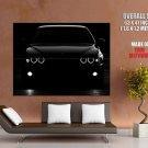 Bmw M5 Black Headlight Car Auto Huge Giant Print Poster