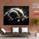 Shooting Stars Meteor Planet Space Huge Giant Print Poster