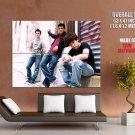 Jonas Brothers Band Urban Huge Giant Print Poster