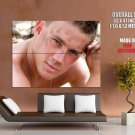 Channing Tatum Hot Portrait Actor HUGE GIANT Print Poster