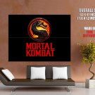 Mortal Kombat Logo Video Game Huge Giant Print Poster