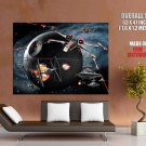 Death Star X Wing Tie Star Wars Huge Giant Print Poster
