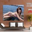 Mai Nishida Hot Japanese Actress HUGE GIANT Print Poster