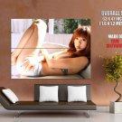 Aki Hoshino Hot Japanese Actress HUGE GIANT Print Poster
