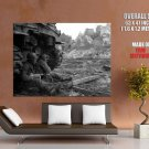 World War Ii Real Photo Military War Huge Giant Print Poster