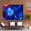 Slash Live Guns N Roses Guitarists HUGE GIANT Print Poster
