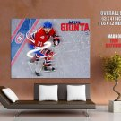 Brian Gionta Montreal Canadiens Nhl Huge Giant Print Poster