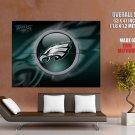 Philadelphia Eagles Logo Nfl Huge Giant Print Poster