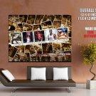 Michael Jordan Slideshow Bulls Nba Huge Giant Print Poster