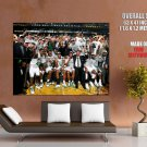 Boston Celtics Finals Champion Nba Huge Giant Print Poster