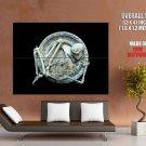 Circle Of Life Antique Skeleton Art Huge Giant Print Poster