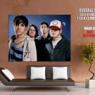 Fall Out Boy Group Music New Huge Giant Print Poster