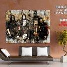 Slipknot Group Scary Masks Music HUGE GIANT Print Poster