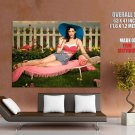 Katy Perry Hot 50s Pinup Print Huge Giant Poster