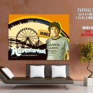 Adventureland James Movie Art Print Huge Giant Poster