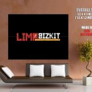 Limp Bizkit Musc Rock Band Rap Rock Nu Metal Huge Giant Print Poster
