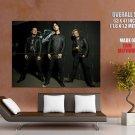 Billie Joe Armstrong Green Day Rock Music Huge Giant Print Poster