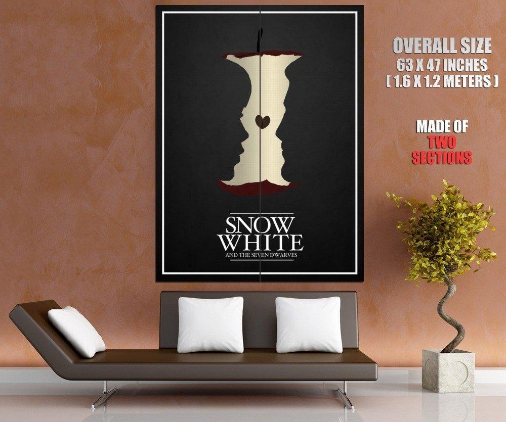 Snow White Minimalist Walt Disney Princess Huge Giant Print Poster