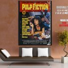 Pulp Fiction Movie Thriller Comedy Uma Thurman Huge Giant Print Poster