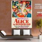 Alice In Wonderland Walt Disney Cartoon Huge Giant Print Poster