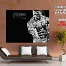 Lenyn Nunez Washington Bodybuilding Inspiration HUGE GIANT Print POSTER