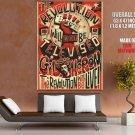 Gilbert Scott Heron Music Singer Jazz Blues Huge Giant Print Poster