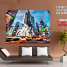 Times Square New York Huge Giant Print Poster