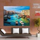 Canal Gande Venice Rialto Huge Giant Print Poster