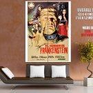 Horror Of Frankenstein Ralph Bates Huge Giant Print Poster