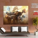 Warhammer Game Shooter Action Huge Giant Print Poster