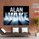 Alan Wake Game Adventure Action Huge Giant Print Poster