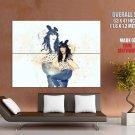 Carly Rae Jepsen Singer Pop Rock Music Huge Giant Print Poster