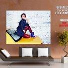 Alicia Keys Hip Hop Soul Blues Singer Huge Giant Print Poster