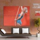 Actress Marilyn Monroe Model Singer Huge Giant Print Poster